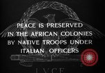Image of African troops in Italian colony Italy, 1929, second 11 stock footage video 65675043282