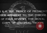 Image of Prince of Piedmont Italy, 1929, second 1 stock footage video 65675043283