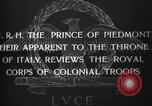 Image of Prince of Piedmont Italy, 1929, second 13 stock footage video 65675043283