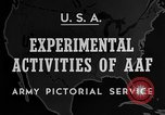 Image of United States Army Air Force target practice Italy, 1945, second 5 stock footage video 65675043288