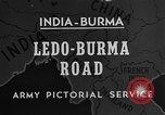 Image of Chinese engineers build Ledo road Burma, 1944, second 1 stock footage video 65675043289