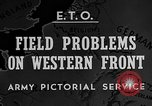 Image of Western Front snow scenes January 1945 in World War II Europe, 1945, second 3 stock footage video 65675043290