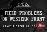 Image of Western Front snow scenes January 1945 in World War II Europe, 1945, second 6 stock footage video 65675043290