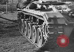 Image of United States M-24 Chaffee tank Germany, 1945, second 33 stock footage video 65675043291
