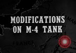 Image of M-24 Sherman Tank United States USA, 1945, second 1 stock footage video 65675043292