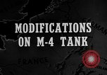 Image of M-24 Sherman Tank United States USA, 1945, second 2 stock footage video 65675043292