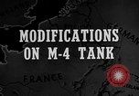 Image of M-24 Sherman Tank United States USA, 1945, second 3 stock footage video 65675043292