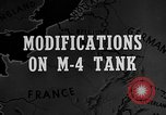 Image of M-24 Sherman Tank United States USA, 1945, second 4 stock footage video 65675043292