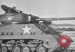 Image of M-24 Sherman Tank United States USA, 1945, second 33 stock footage video 65675043292