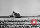 Image of M-24 Sherman Tank United States USA, 1945, second 44 stock footage video 65675043292