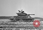 Image of M-24 Sherman Tank United States USA, 1945, second 48 stock footage video 65675043292