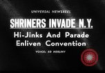 Image of The Shriners parade New York City USA, 1964, second 3 stock footage video 65675043298