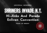 Image of The Shriners parade New York City USA, 1964, second 5 stock footage video 65675043298