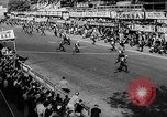 Image of 24 hours motorcycle race Spain, 1964, second 4 stock footage video 65675043300
