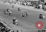 Image of 24 hours motorcycle race Spain, 1964, second 13 stock footage video 65675043300