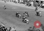 Image of 24 hours motorcycle race Spain, 1964, second 14 stock footage video 65675043300