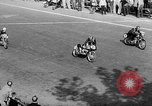 Image of 24 hours motorcycle race Spain, 1964, second 15 stock footage video 65675043300