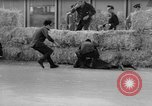Image of 24 hours motorcycle race Spain, 1964, second 25 stock footage video 65675043300