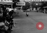 Image of 24 hours motorcycle race Spain, 1964, second 32 stock footage video 65675043300
