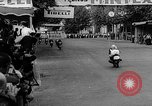 Image of 24 hours motorcycle race Spain, 1964, second 33 stock footage video 65675043300
