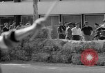 Image of 24 hours motorcycle race Spain, 1964, second 34 stock footage video 65675043300