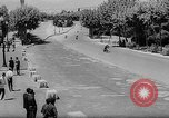 Image of 24 hours motorcycle race Spain, 1964, second 62 stock footage video 65675043300