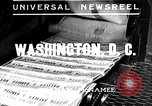 Image of Social security voted Washington DC USA, 1935, second 1 stock footage video 65675043310