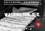 Image of Social security voted Washington DC USA, 1935, second 2 stock footage video 65675043310