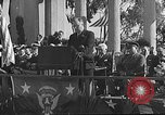 Image of Franklin D Roosevelt San Diego California USA, 1935, second 8 stock footage video 65675043321
