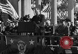 Image of Franklin D Roosevelt San Diego California USA, 1935, second 13 stock footage video 65675043321