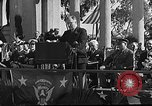 Image of Franklin D Roosevelt San Diego California USA, 1935, second 15 stock footage video 65675043321