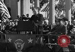 Image of Franklin D Roosevelt San Diego California USA, 1935, second 17 stock footage video 65675043321