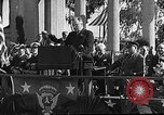 Image of Franklin D Roosevelt San Diego California USA, 1935, second 25 stock footage video 65675043321