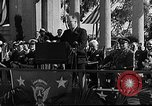 Image of Franklin D Roosevelt San Diego California USA, 1935, second 30 stock footage video 65675043321