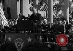 Image of Franklin D Roosevelt San Diego California USA, 1935, second 31 stock footage video 65675043321