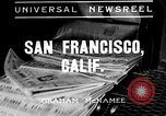 Image of China Clipper San Francisco California USA, 1935, second 1 stock footage video 65675043322