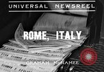 Image of Benito Mussolini Rome Italy, 1935, second 2 stock footage video 65675043325