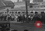 Image of workers end shipyard strike Camden New Jersey USA, 1935, second 2 stock footage video 65675043348
