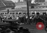 Image of workers end shipyard strike Camden New Jersey USA, 1935, second 3 stock footage video 65675043348