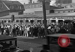 Image of workers end shipyard strike Camden New Jersey USA, 1935, second 4 stock footage video 65675043348