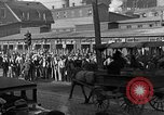 Image of workers end shipyard strike Camden New Jersey USA, 1935, second 5 stock footage video 65675043348