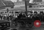 Image of workers end shipyard strike Camden New Jersey USA, 1935, second 6 stock footage video 65675043348