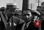 Image of workers end shipyard strike Camden New Jersey USA, 1935, second 10 stock footage video 65675043348