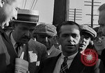 Image of workers end shipyard strike Camden New Jersey USA, 1935, second 12 stock footage video 65675043348