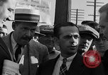 Image of workers end shipyard strike Camden New Jersey USA, 1935, second 14 stock footage video 65675043348
