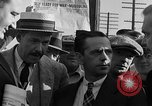 Image of workers end shipyard strike Camden New Jersey USA, 1935, second 15 stock footage video 65675043348