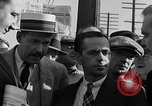 Image of workers end shipyard strike Camden New Jersey USA, 1935, second 16 stock footage video 65675043348