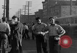 Image of workers end shipyard strike Camden New Jersey USA, 1935, second 18 stock footage video 65675043348