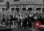 Image of workers end shipyard strike Camden New Jersey USA, 1935, second 29 stock footage video 65675043348