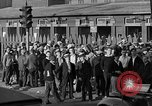 Image of workers end shipyard strike Camden New Jersey USA, 1935, second 30 stock footage video 65675043348